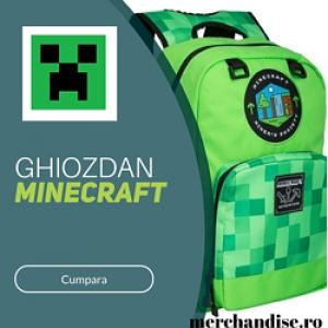 Ghiozdan Minecraft
